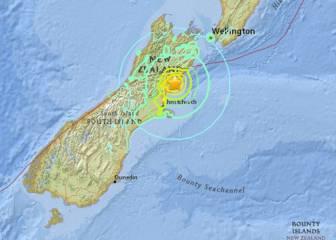 Nueva Zelanda sufre un fuerte terremoto y desata un tsunami