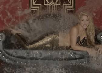 Shakira más seductora que nunca en su nuevo vídeo