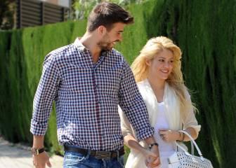 Piqué piropea a Shakira en Twitter: '¡Sexy con o sin agua!'