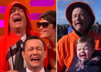 Tom Hanks reinterpreta a Forrest Gump e imita la foto de Bill Murray