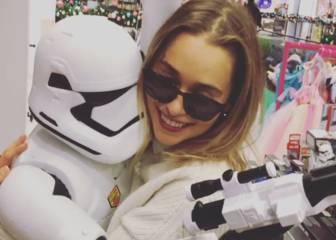 Emilia Clarke celebra en Instagram su fichaje por Star Wars