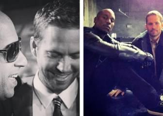 Paul Walker es recordado por Vin Diesel y Tyrese Gibson