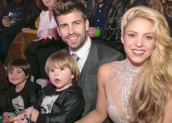 Piqué ve triunfar a Shakira en los 40 Music Awards