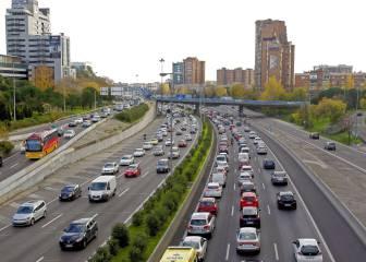 Operación salida: el tráfico en el Puente de diciembre