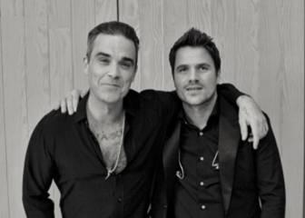 Robbie Williams y Dani Martín se unen en Navidad