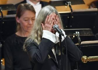 El error de Patti Smith al recoger el Nobel de Bob Dylan