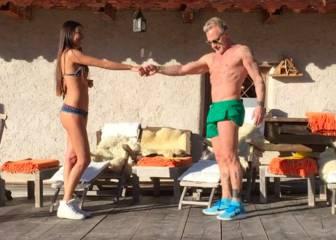 Gianluca Vacchi y su novia bailan al ritmo de