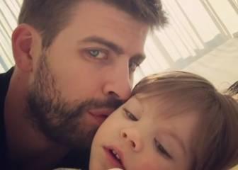 Gerard Piqué se come a besos a su hijo Sasha