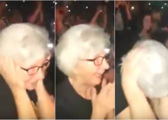 La abuela fan de Robbie Williams, todo un fenómeno en Internet