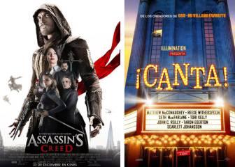 Assassin's Creed, ¡Canta! y otros estrenos de cartelera