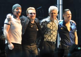 U2 felicita la Navidad y anuncia conciertos