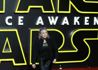 Disney recibirá 47 millones por la muerte de Carrie Fisher