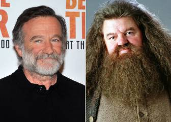 Robin Williams pudo ser Hagrid en la saga Harry Potter