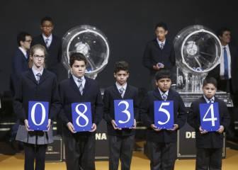 08.354: El primer premio del Sorteo de El Niño 2017