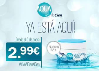 La crema Aqua Cien vuelve a los supermercados Lidl