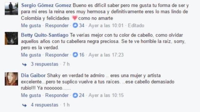 Shakira criticada por su última fotografía de Instagram