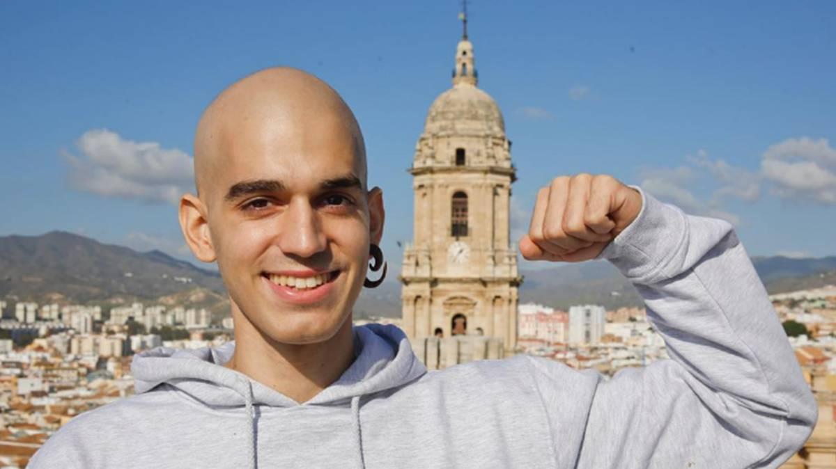 Pablo Ráez, el joven marbellí que convirtió su lucha contra la leucemia en un fenómeno viral y promovió la donación de médula con su reto un millón.