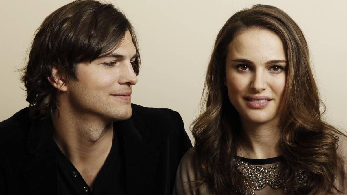 Natalie Portman y Ashton Kutcher