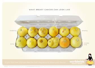 Conoce tus limones: la campaña viral para prevenir el cáncer de mama