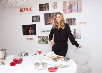 Drew Barrymore presenta en Madrid su serie con Netflix