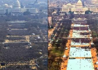 La diferencia de público entre Obama y Donald Trump