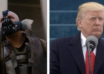 ¿Ha copiado Donald Trump el discurso del malo de Batman?