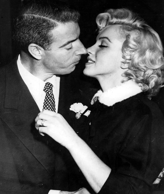 Joe DiMaggio y Marilyn Monroe. Foto: Wikipedia