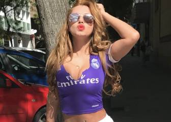 Mirtha Sosa, nombrada la fan más sexy del Real Madrid