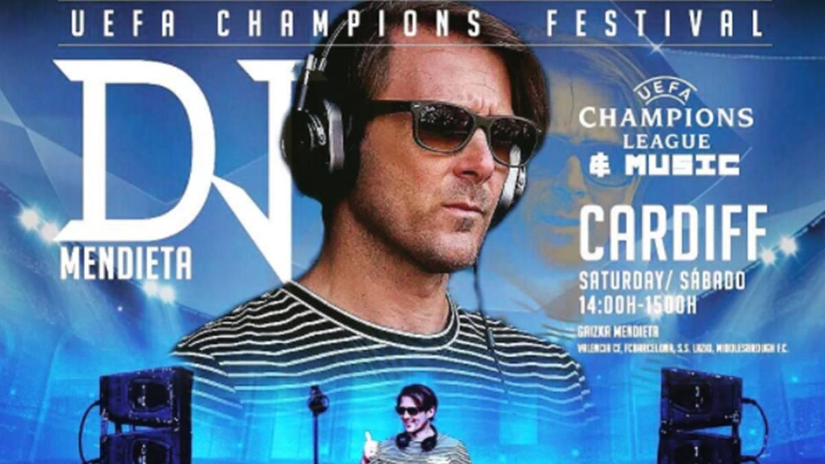 Men ta hará de DJ en la previa de la final de la Champions
