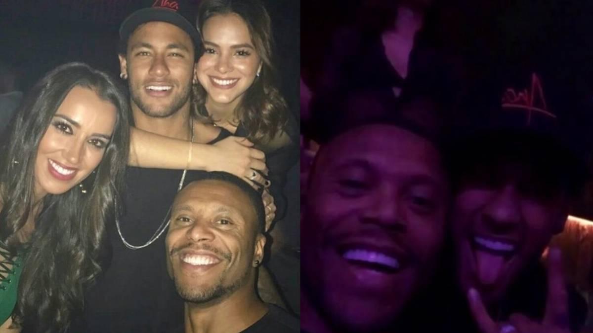 Las vacaciones de Neymar: Las Vegas, poker, NBA y mucha fiesta