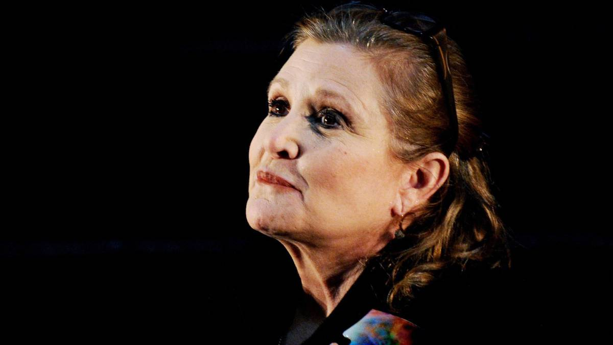 Revelan la causa de muerte de Carrie Fisher