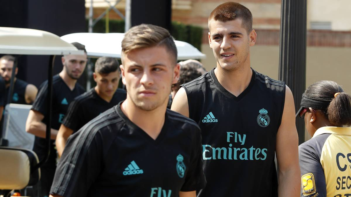 Real Madrid entrena a pesar de amenaza
