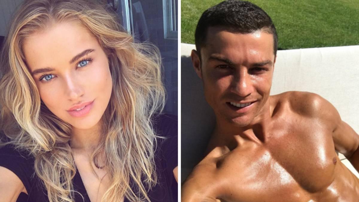 Tanya Mityushina fan de Cristiano Ronaldo