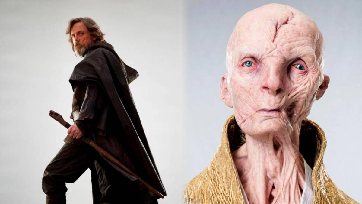 En Twitter, revelan el rostro de Snoke — Star Wars