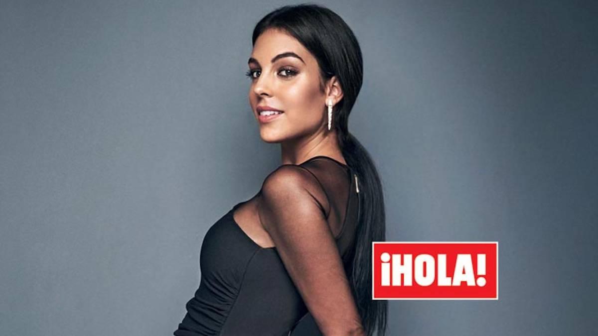 Georgina Rodriguez Novia De Cristiano Ronaldo Posa Embarazada Por Primera Vez As