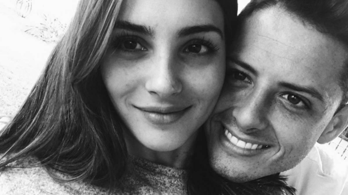 Chicharito dedica romántico mensaje a Andrea Duro