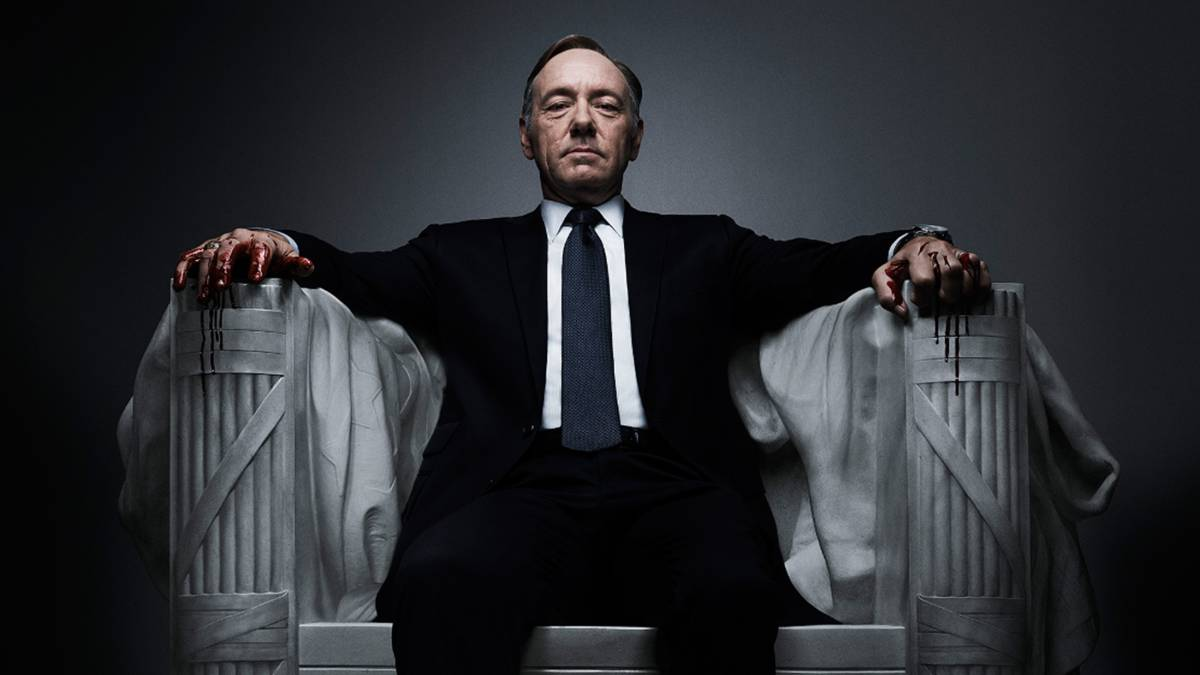 Netflix suspende producción de 'House of Cards' por caso Spacey