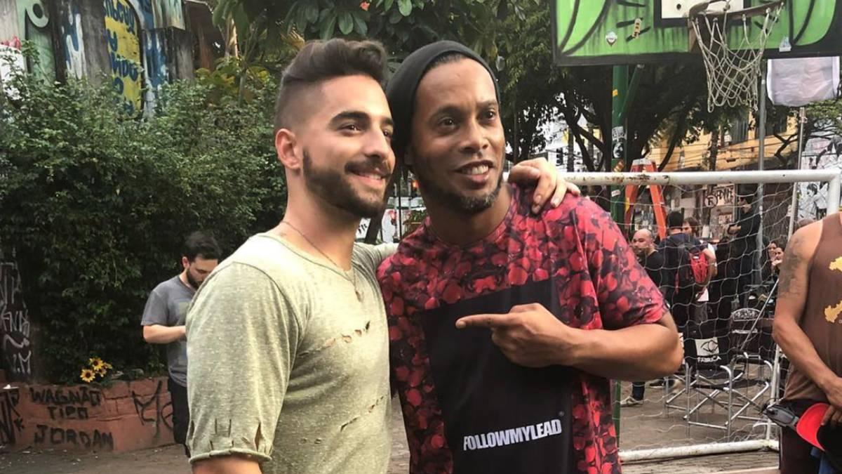 Ronaldinho confirmó que se dedicará a la música