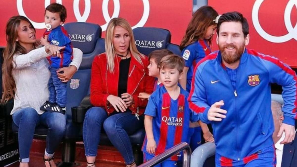 f9550a05e5 Lionel Messi apuesta por el hijo de Luis Suárez - AS.com