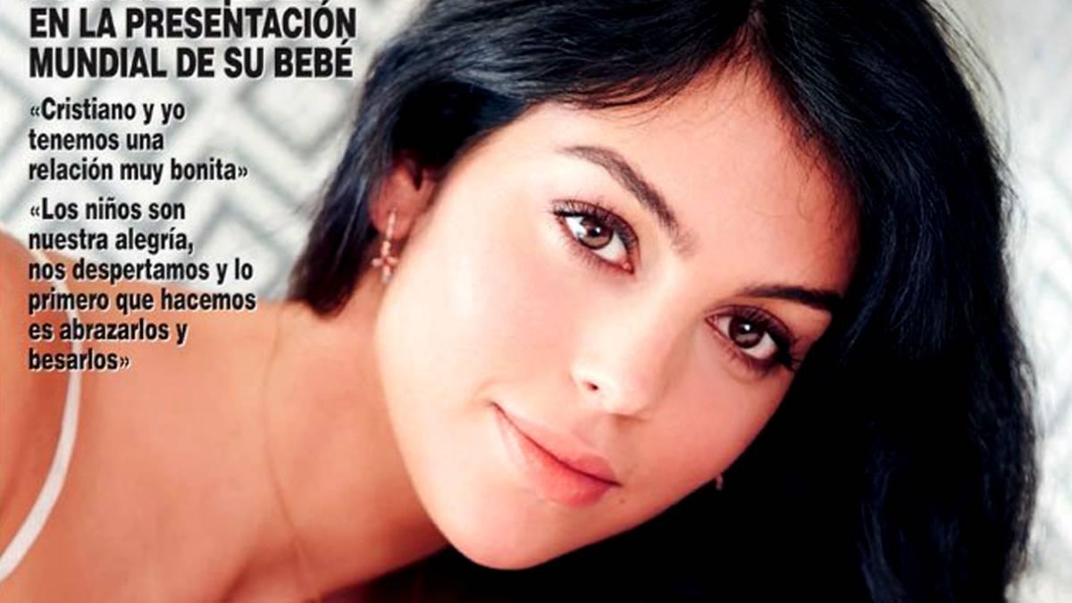 Georgina Rodríguez revela el rostro de su pequeña hija Alana