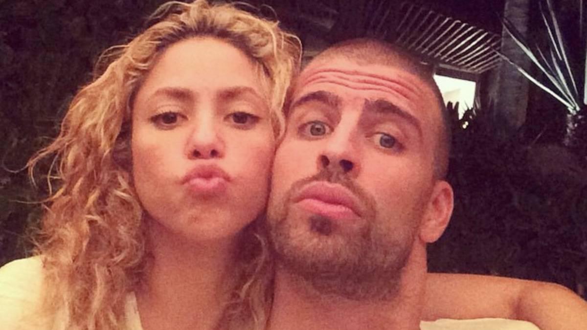 Shakira busca como no separarse de Piqué