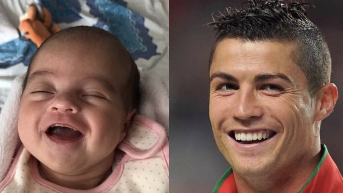 El Gran Parecido Entre Cristiano Ronaldo Y Su Hija Alana Martina