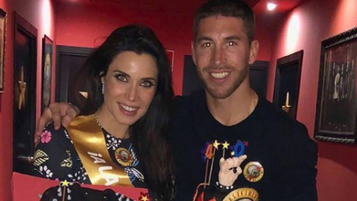 Pilar Rubio cumple 40 años y Ramos le regala mucho dulce - AS.com