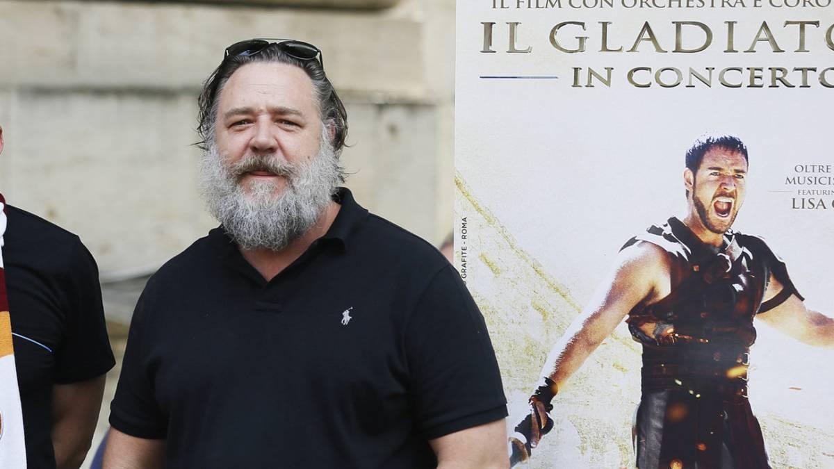 El impresionante cambio del actor Russell Crowe