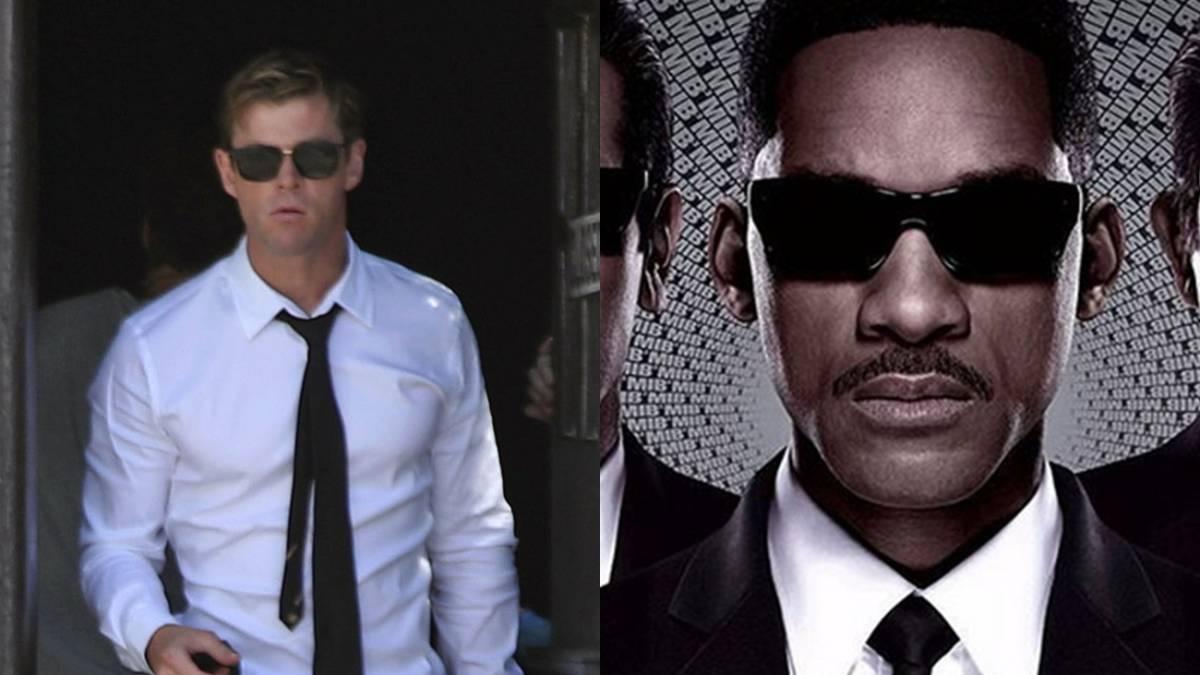 Primeras imágenes de Chris Hemsworth como un Men in Black