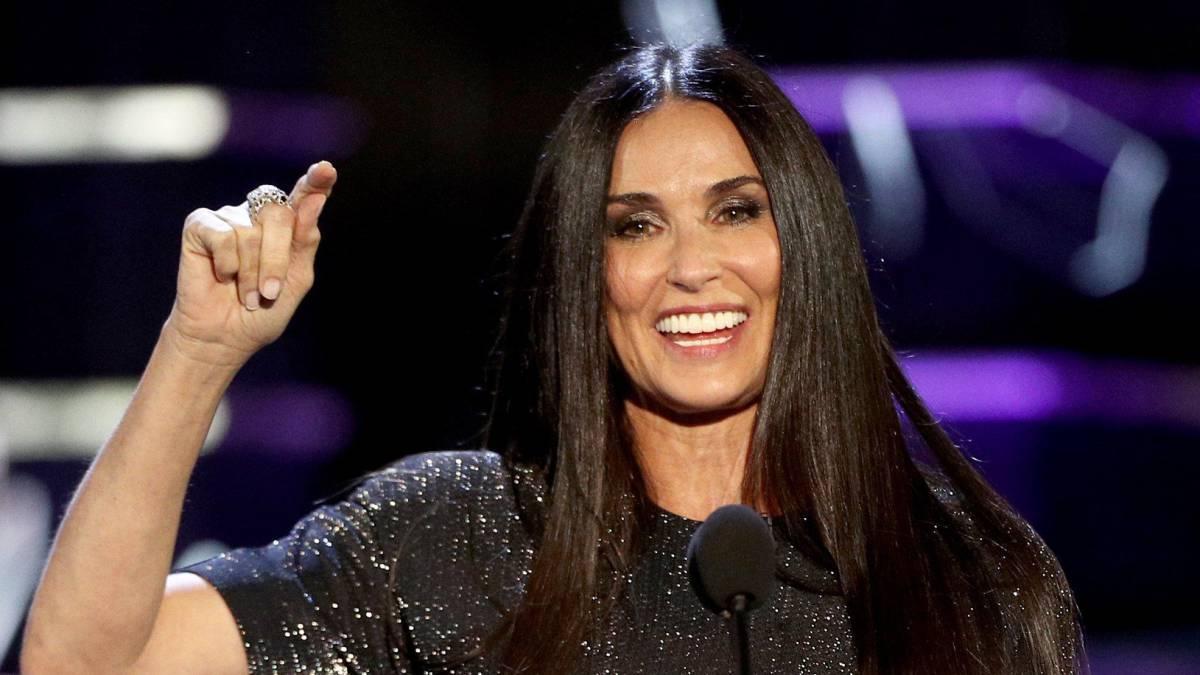 Demi Moore se burló de su divorcio con Bruce Willis [FOTOS]