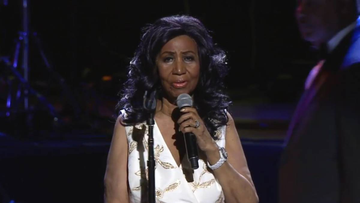 La legendaria Aretha Franklin se encuentra grave de salud