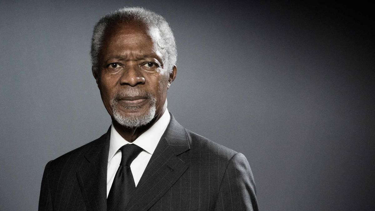 El gobierno uruguayo lamentó la muerte de Kofi Anan