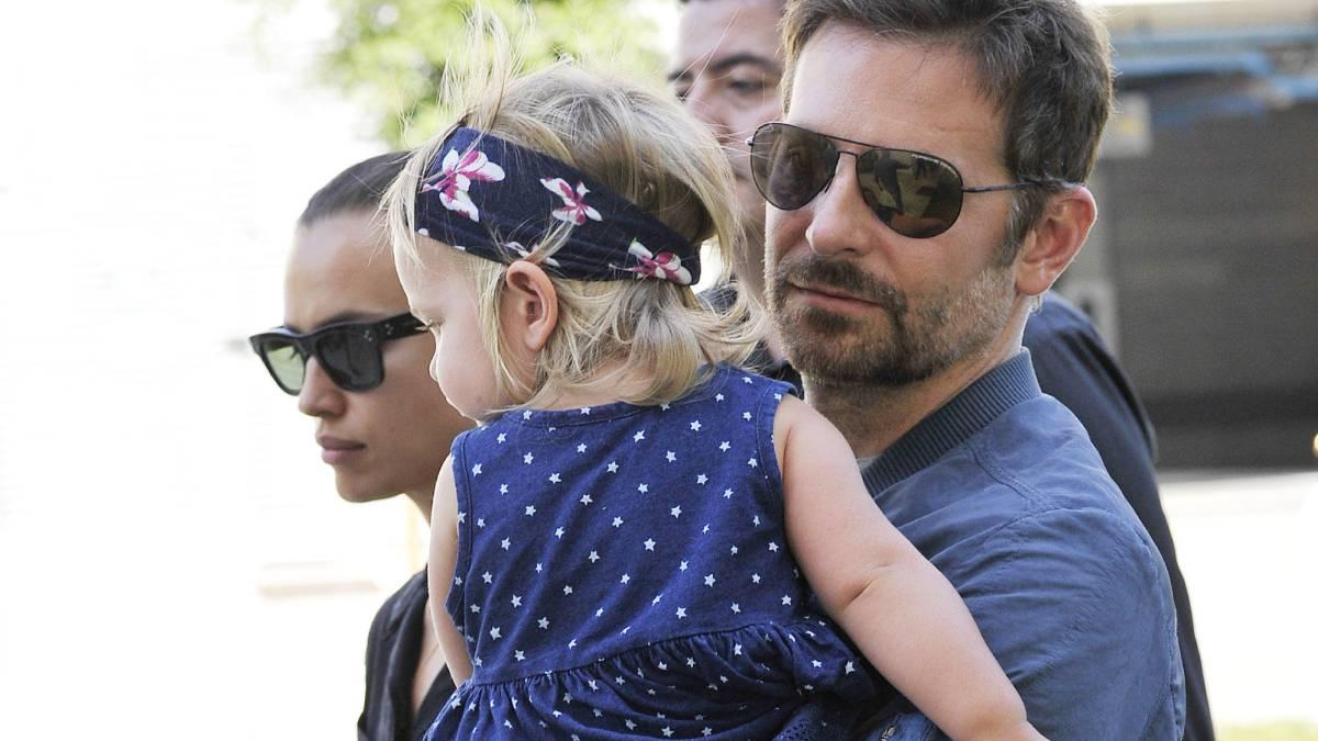 Resultado de imagen para bradley cooper y irina shayk y su hija