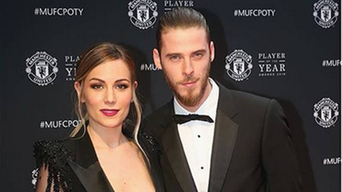 Edurne congratulates De Gea and tells the haters to shut